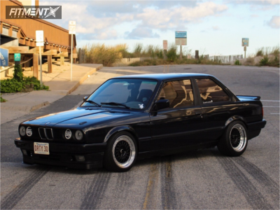 1991 BMW 318is - 16x7.5 20mm - ESM 009r - Coilovers - 195/45R16