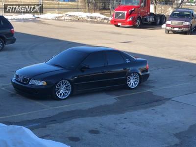2001 Audi A4 Quattro - 18x9.5 35mm - Rotiform Blq - Air Suspension - 225/40R18