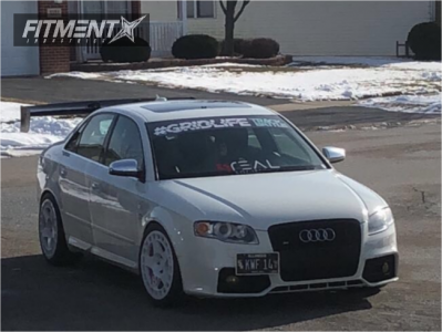 2006 Audi S4 - 18x9.5 30mm - Fifteen52 Turbomac - Coilovers - 255/35R18