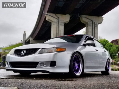 2006 Acura TLX - 18x9 49mm - SSR Ms3 - Coilovers - 225/40R18