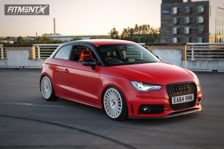 2014 Audi A3 - 18x8.5 45mm - Rotiform Ind-t - Coilovers - 225/35R18