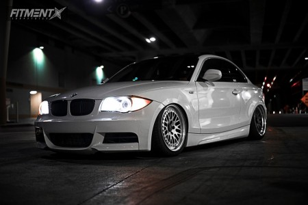 2011 BMW 135i - 18x8.5 38mm - CCW Classic - Air Suspension - 225/40R18
