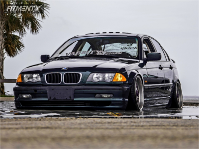 2001 BMW 3 Series - 17x9 5mm - BBS Rc090 - Coilovers - 195/40R17