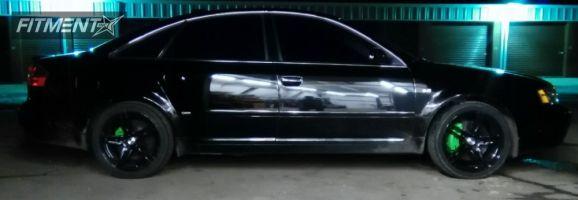 2004 Audi A6 Quattro - 18x8 35mm - Neoz NZ5011 - Stock Suspension - 215/40R18