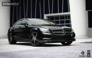 2012 Mercedes-Benz CLS550 - 20x9 25mm - K3 Projekt F2 - Lowered on Springs - 255/30R20