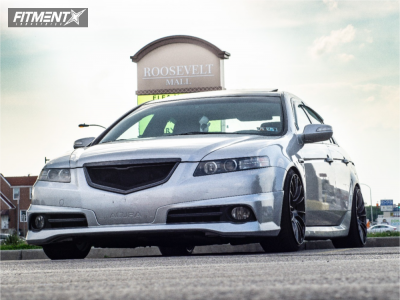 2007 Acura TL - 18x9.5 12mm - WedsSport Sa-72r - Coilovers - 215/35R18