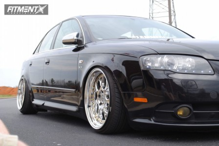 2006 Audi S4 - 18x9.5 35mm - Aodhan Ds01 - Coilovers - 215/40R18