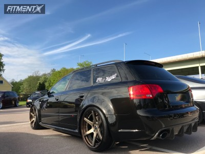 2007 Audi RS4 - 20x10 25mm - Work Zeast St1 - Coilovers - 245/30R20