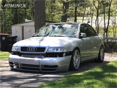 2000 Audi S4 - 18x8.5 35mm - 3sdm 0.05 - Coilovers - 225/40R18