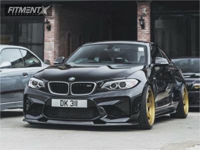 2016 BMW M2 - 19x9.5 12mm - Volk Te37 - Coilovers - 245/35R19