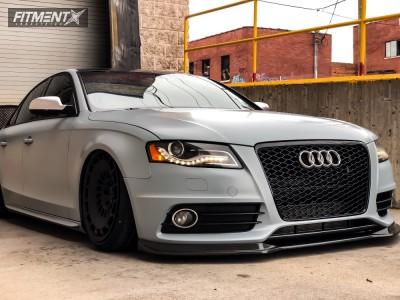 2010 Audi S4 - 19x10 35mm - Rotiform Ccv - Air Suspension - 245/35R19