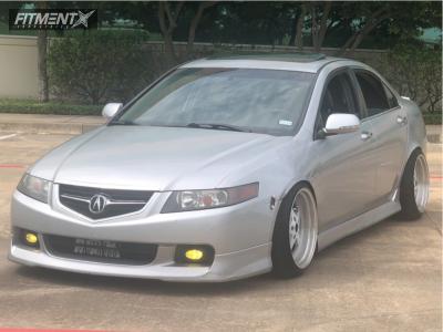 2005 Acura TSX - 18x10.5 22mm - ESR SR04 - Coilovers - 225/40R18