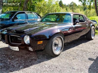 1973 Pontiac Firebird - 15x7 -6mm - American Racing Outlaw - Stock Suspension - 225/60R15