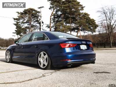 2015 Audi A3 Quattro - 18x9.5 40mm - Fifteen52 Tarmac - Coilovers - 225/40R18