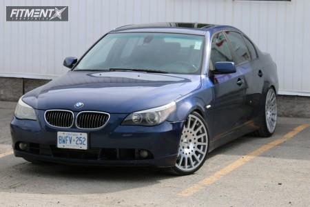 2004 BMW 545i - 20x9 15mm - TSW Holeshot - Coilovers - 245/30R20