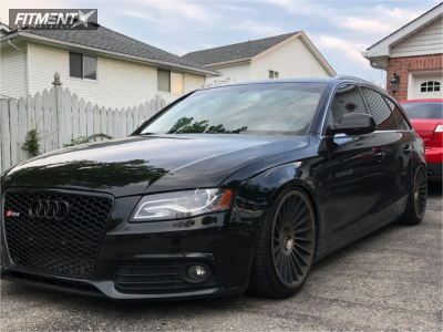 2012 Audi A4 Quattro - 19x10 35mm - Rotiform Ind-t - Coilovers - 235/30R19