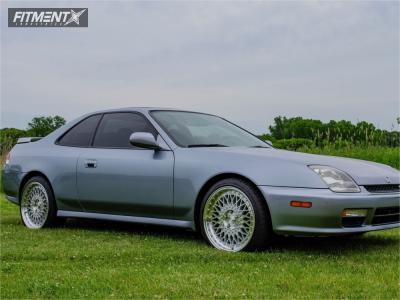 1999 Honda Prelude - 18x8 45mm - Avant Garde M220 - Lowered Adj Coil Overs - 215/40R18