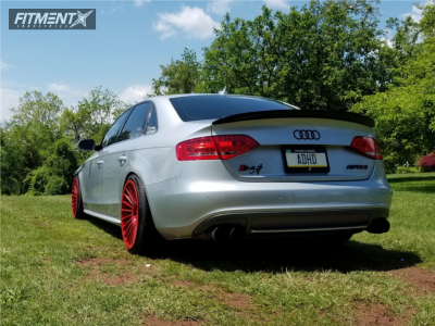 2010 Audi S4 - 19x10 25mm - Rotiform Ind-t - Coilovers - 235/35R19