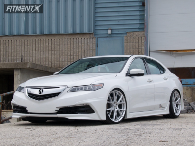 2016 Acura TLX - 20x8.5 38mm - Vossen Vfs6 - Coilovers - 245/30R20
