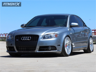 2007 Audi A4 Quattro - 18x9.5 35mm - Rotiform Ind-t - Coilovers - 225/40R18