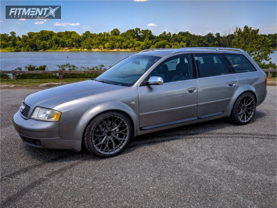 2002 Audi S6 - 19x10 35mm - Ambit FC20 - Coilovers - 255/35R19