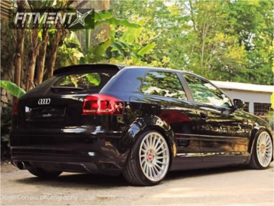 2006 Audi A3 - 18x8.5 42mm - 3sdm 0.04 - Coilovers - 215/35R18