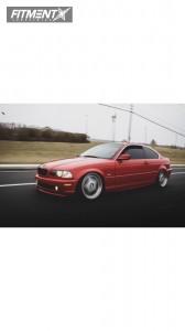 2002 BMW 325Ci - 18x8 20mm - Avant Garde M240 - Coilovers - 215/35R18