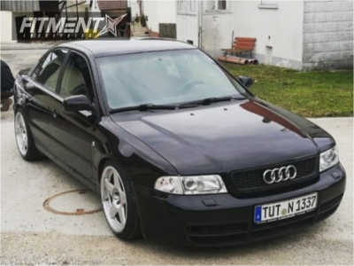 1998 Audi A4 - 18x8.5 20mm - Azev Type A - Coilovers - 215/40R18