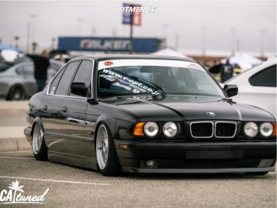 1995 BMW 525i - 16x8 18mm - BBS RZ - Air Suspension - 205/45R16