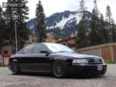 2000 Audi S4 - 18x9.5 35mm - Rotiform Rse - Air Suspension - 225/40R18