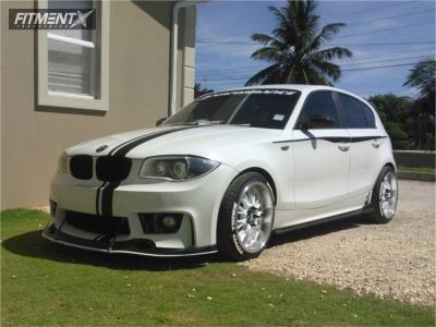 2007 BMW 1 Series M - 18x8.5 30mm - STR 514 - Stock Suspension - 215/35R18
