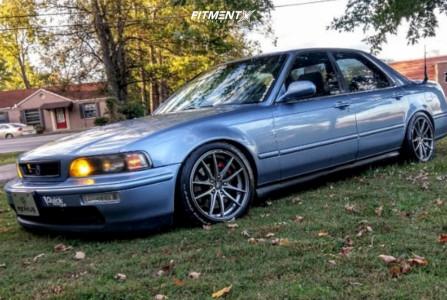 1995 Acura Legend - 17x8 45mm - Konig Oversteer - Lowering Springs - 225/45R17