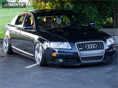 2008 Audi A6 Quattro - 19x10.5 31mm - Work LS 507 - Air Suspension - 245/35R19