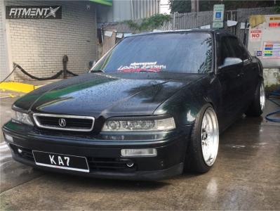 1995 Acura Legend - 18x10 25mm - XXR 521 - Coilovers - 225/35R18