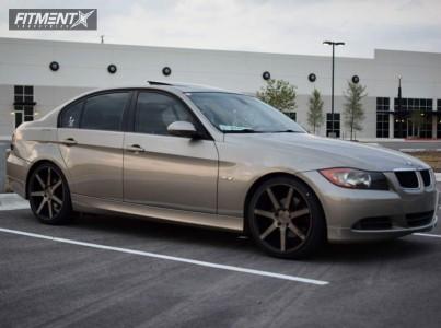 2008 BMW 3 Series - 19x8.5 35mm - Niche Verona - Stock Suspension - 235/35R19