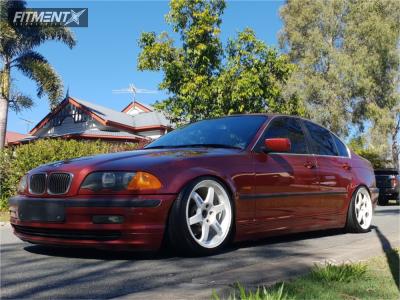 1999 BMW 323i - 17x8.5 30mm - Volk Te37 - Coilovers - 205/45R17
