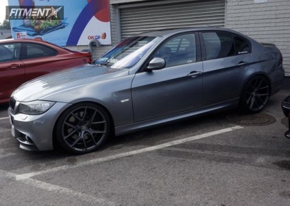 2009 BMW 330i - 19x8.5 35mm - ZP Performance zp.09 - Lowering Springs - 235/30R19