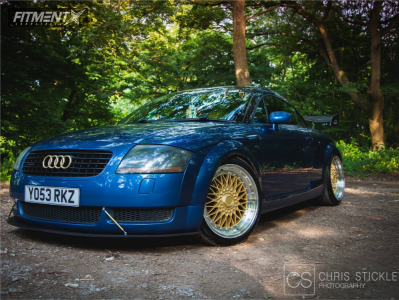 2003 Audi TT Quattro - 18x9.5 35mm - BBS Rs - Coilovers - 225/35R18