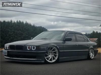 1999 BMW 740iL - 19x10 25mm - RVL Liz Moniflow - Coilovers - 235/35R19