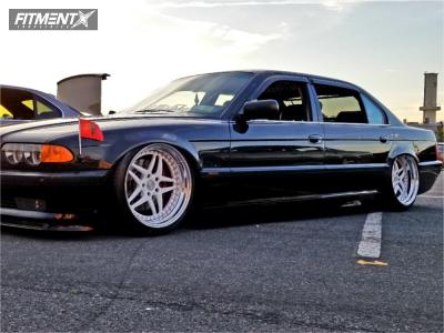 2000 BMW 750iL - 19x10 8mm - Heritage Ebisu - Air Suspension - 245/35R19