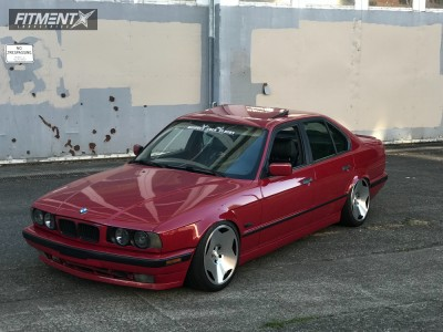 1995 BMW 540i - 18x9.5 40mm - VSP Type2 - Coilovers - 255/35R18