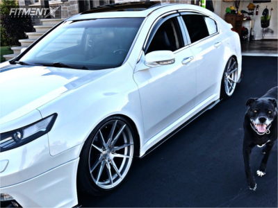 2012 Acura TL - 20x10 40mm - Rohana Rf2 - Coilovers - 255/35R20