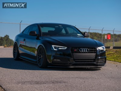 2013 Audi S5 - 20x10 25mm - Rotiform Rse - Coilovers - 265/30R20