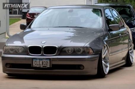 2003 BMW 530i - 19x10.5 22mm - ESR Sr08 - Coilovers - 225/35R19