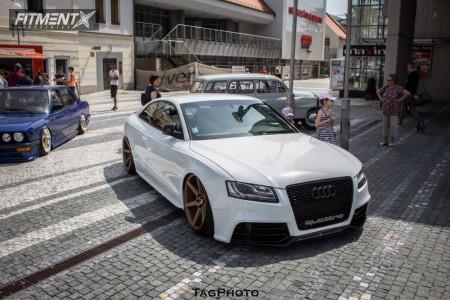 2008 Audi S5 - 20x10.5 35mm - Stance Sc-6ix - Air Suspension - 265/30R20