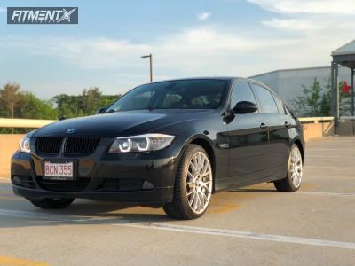 2007 BMW 328xi - 19x8.5 30mm - Alzor 020 - Stock Suspension - 235/30R19