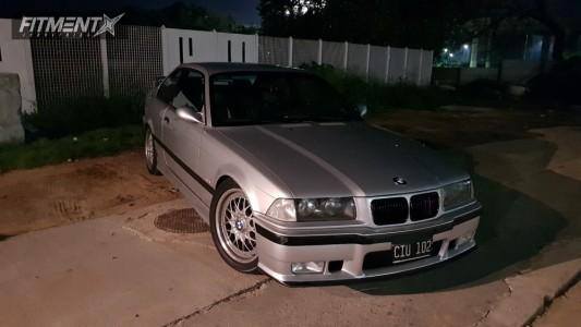 1998 BMW 328is - 17x7.5 41mm - BBS RC 041/042 - Lowering Springs - 225/45R17