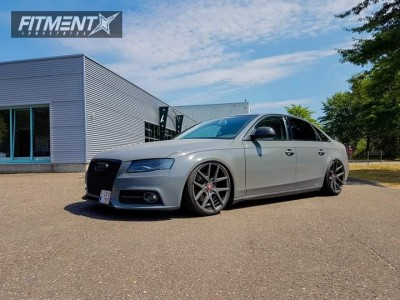 2009 Audi A4 - 19x8.5 35mm - Barotelli St-02 - Coilovers - 215/35R19