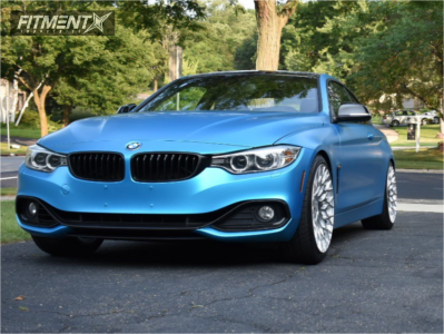2014 BMW 428i xDrive - 20x10 44mm - TSW Oslo - Lowering Springs - 255/35R20