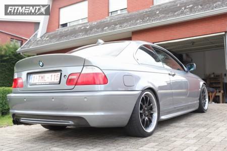 2004 BMW 318i - 18x8.5 35mm - Arc Ar02 - Lowering Springs - 225/40R18